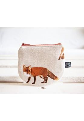 Peňaženka režná - líška