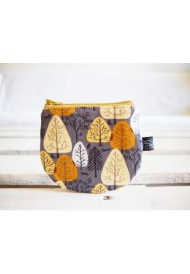 Peňaženka - jesenné stromy