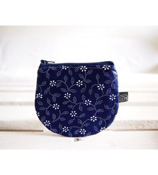 Peňaženka-vzor modrotlač I