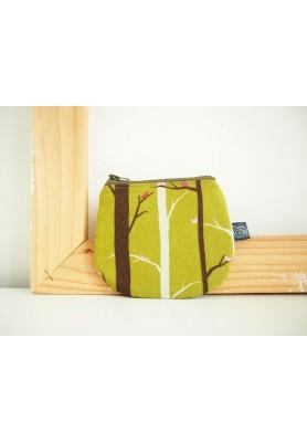 Peňaženka - stromy v zelenej