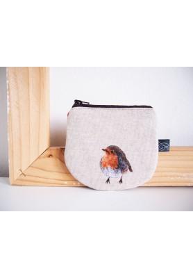 Peňaženka režná - vtáčik I